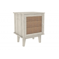 BSCI White Wood Nightstand Manufactures