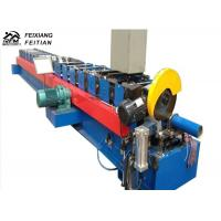 Adjustable Downspout Roll Forming Machine 15m/Min Speed For Building Material Manufactures
