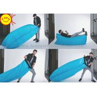 Rip Stop Holiday Inflatables Pure Durable Nylon Waterproof Fast Inflatable Sleeping Bag Manufactures