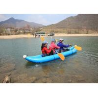 4m Water Banana Rubber Inflatable Boat For Water Rafting / Water Sports Manufactures