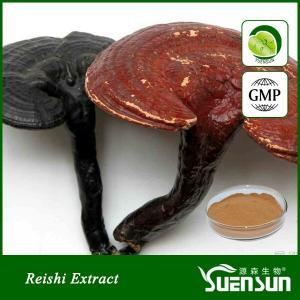 Organic ganoderma lucidum reshi mushroom powder best price 10%-50% Polysaccharides Manufactures