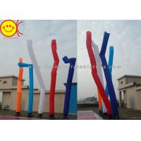 Professional Double Legs Inflatable Air Dancer Waving Sky Tube For Events Manufactures