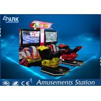 HD Screen Motorcycle Arcade Simulator 2 Maps L2340 * W2070 * H2020 MM Manufactures
