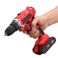 High Value Home Cordless Drill , Variable Speed Small Battery Powered Drill Manufactures