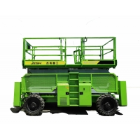 ISO9001 Approved 1150KG Load 12m Mobile Lift Platform Diesel Rough Terrain Manufactures