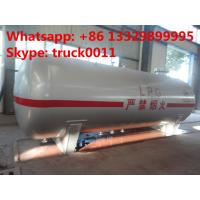 Quality hot sale ASME standard 20 metric tons surface lpg gas storage tank,  factory sale best price lpg gas storage tank for sale