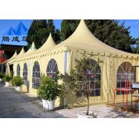 PVC Canopy Gazebo Tent For Celebrations , Flame Retardant Wedding Party Tent Manufactures