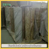 Home Wall Decoration Heat Transfer Film Mylar Film Roll For PVC Furniture Manufactures