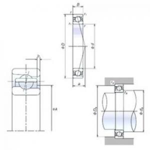 NSK 35BER19H Easy Handling Precision Bearings Manufactures
