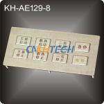 Anti-Vandal industrial keypad Manufactures