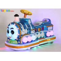 Thicken Plastic Electric Kids Ride On Car Remote Control Train Rides Manufactures