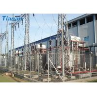 China 3 Phase 110kV Industrial Oil Immersed Power Transformer With Corrugated Steel Plate Tank on sale