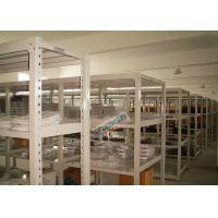 Universal Q195 Slotted Angle Steel Racks Long Span Shelf 200 Kg Per Level