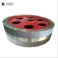 Gear Transmission Parts Large Steel Casting And Hobbing Metal Herringbone Gear Wheel Manufactures
