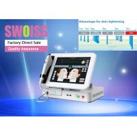 3D Anti - Wrinkle HIFU Facelift Machine With 10' Color Touch LCD Screen 300W Manufactures