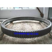 Large Diameter Stainless Steel Rotary External Kiln Ring Gears  With CITIC Manufactures