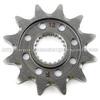 Lightweight Dirt Bike Front Sprocket Original Color Motocross Parts Manufactures