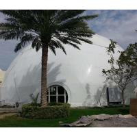 Modular Frame Geodesic Dome Shelter 8m Diameter Party Ceremony Dome Shaped Tent Manufactures