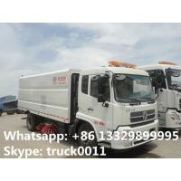 dongfeng 4*2 LHD Cummins 180hp/185hp diesel road sweeper cleaning vehicle for sale, best price CLW road cleaning vehicle Manufactures