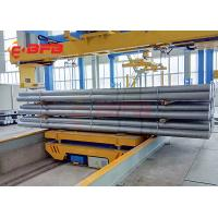 Heavy load industrial trolleys, heavy pipe handling trolley, powered industry transfer trolley