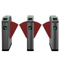 Superior Flap Barrier Gate , Remote Control Turnstile Security Systems Manufactures