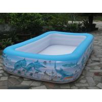 Rectangle Inflatable Family Kids Baby Bath Pool with Pattern Printing Manufactures