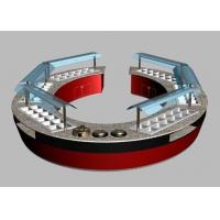 Oval & Round Shape Combination Restaurat Buffet Tables, Commercial Buffet Equipment Manufactures