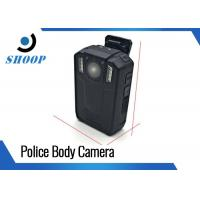 Portable Small Police Body Camera 32G 3500mAh Battery With Motion Detection Manufactures