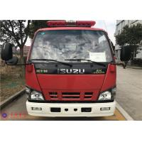 Six Cylinder Turbocharged Engine 2000L Water Tender Fire Truck With Hydraulic Control Clutch Manufactures