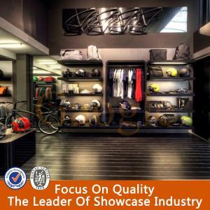 New style wooden retail garment shop interior design Manufactures