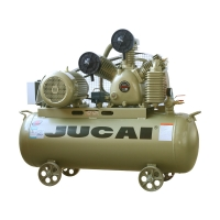 Belt Driven Oil Less Industrial Air Compressor Reciprocating Type 7.5hp 5.5kw 150l Manufactures