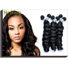 Soft Brazilian And Peruvian Virgin Hair / Peruvian Weave 10 Inch Manufactures
