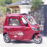 China Handle Steering 60V 58Ah 3 Wheel Electric Car on sale