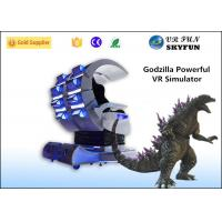 Godzilla Shap Immitated VR Shooting Game Simulator with Double Seats 360 Degree Horizontal Rotation Manufactures