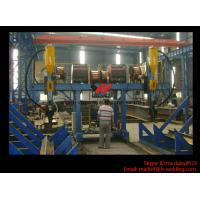 H Beam Fabrication Welding Equipment / Auto Saw Welder For Flange And Web Welding Seam Manufactures