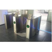 High class Optical glass flap barrier for EUROPE Greiner Bio One staff access control Manufactures