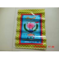 Multi Layer Poly Bags With Hangers , Plastic Woven Rice Bags 25kg 50kg Manufactures