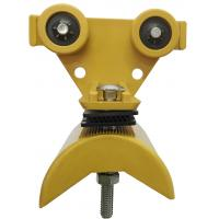 Festoon Cable Trolley for C Track Festoon System / Plastic Cable Carriers for Flat Cable Manufactures
