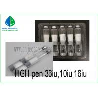 Buy cheap Human Growth Hormone HGH PEN 36IU 16IU 10IU 12629-01-5 For Bodybuilding from wholesalers