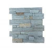 China Exterior Angle of Green Color  Cement Culture Stone For External Wall Cladding on sale