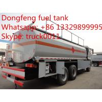 Quality Dongfeng Kinland double rear bridge 25cbm mobile fuel tank for sale, fuel truck for sale