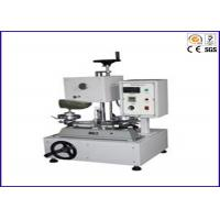 Wear Resistant Footwear Testing Equipment For Shoes / Sole Abrasion Resistance Tester Manufactures