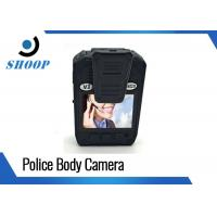 Waterproof Police Body Cameras 3500mAh Battery Capacity With 2 Inches Display Manufactures
