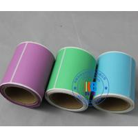 Barcodes printing self adhesive coated paper  transfer label for logistic shipping label Manufactures