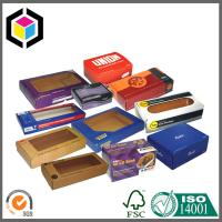Open Window Corrugated Packaging Box; Color Print Cardboard Box Manufactures
