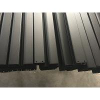 Black Anodized Powder Coating aluminum frame extrusions for Roof Rack Manufactures