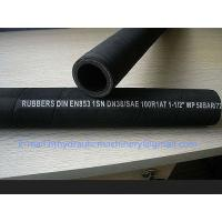 High Pressure Wire Braided Rubber 1.5 inch hydraulic hose R1AT/1SN R2AT/2SN Manufactures