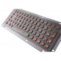 Stainless Steel Backlit USB Keyboard Manufactures