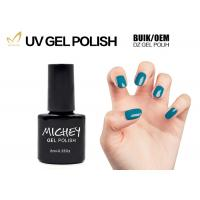 6ml Soak Off Light Blue One Step Gel Nail Polish No Need Base And Top Coat Manufactures