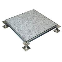 elevated floor panel with PVC finish Manufactures